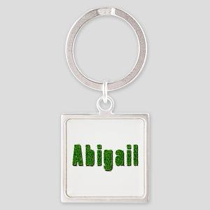 Abigail Grass Square Keychain