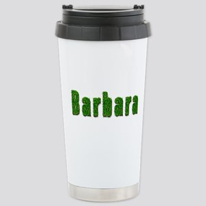 Barbara Grass Stainless Steel Travel Mug