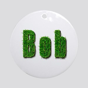Bob Grass Round Ornament