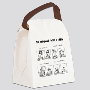 Snowman Meth Makeover Canvas Lunch Bag