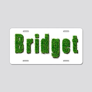 Bridget Grass Aluminum License Plate