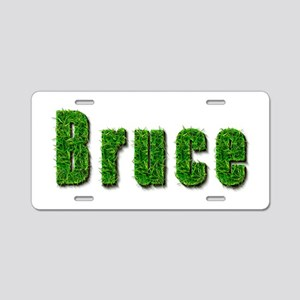 Bruce Grass Aluminum License Plate