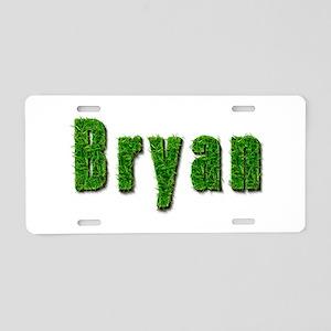 Bryan Grass Aluminum License Plate
