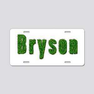 Bryson Grass Aluminum License Plate
