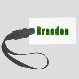 Brandon Grass Large Luggage Tag