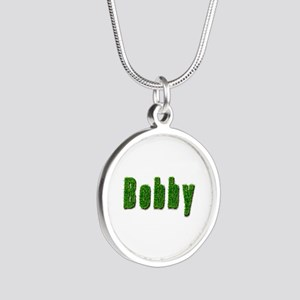 Bobby Grass Silver Round Necklace