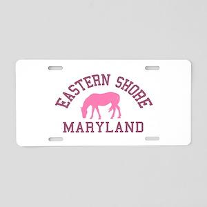 Eastern Shore MD - Ponies Design. Aluminum License