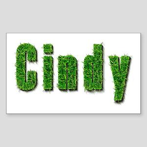 Cindy Grass Rectangle Sticker