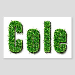 Cole Grass Rectangle Sticker