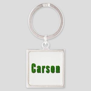 Carson Grass Square Keychain
