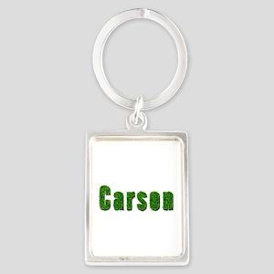 Carson Grass Portrait Keychain