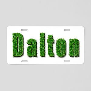Dalton Grass Aluminum License Plate