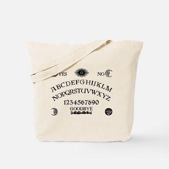 Spirit Board BW Tote Bag