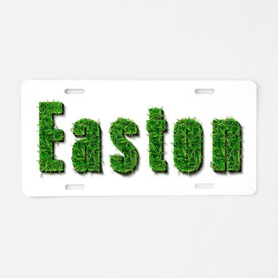 Easton Grass Aluminum License Plate