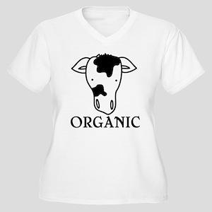 Organic Women's Plus Size V-Neck T-Shirt