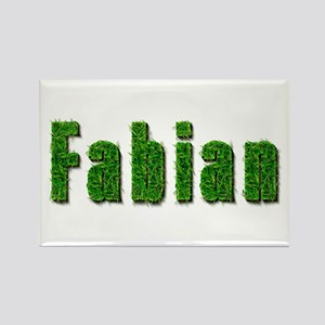 Fabian Grass Rectangle Magnet