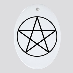 Pentacle Ornament (Oval)
