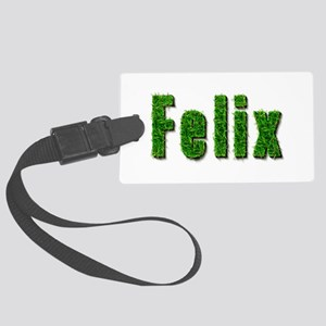 Felix Grass Large Luggage Tag