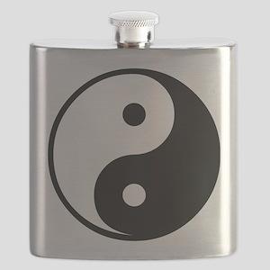 Yin Yang Symbol Flask