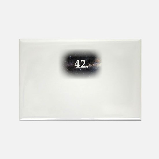 42 Rectangle Magnet