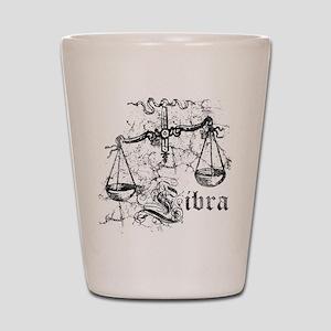 Worn Zodiac Libra Shot Glass