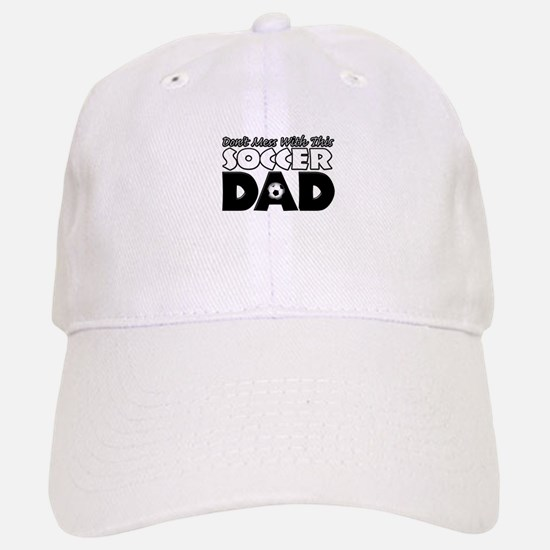 Dont Mess With This Soccer Dad copy.png Baseball Baseball Cap