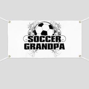 Soccer Grandpa (cross) Banner