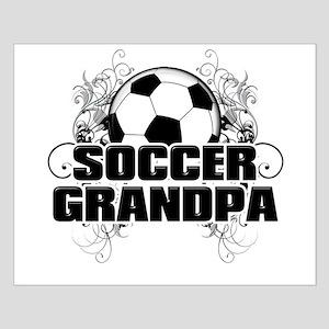 Soccer Grandpa (cross) Small Poster