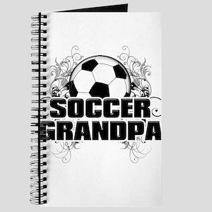 Soccer Grandpa (cross) Journal