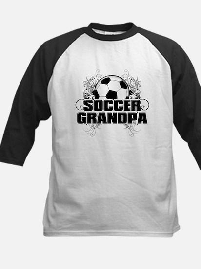 Soccer Grandpa (cross).png Kids Baseball Jersey