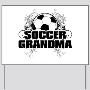 Soccer Grandma (cross) Yard Sign