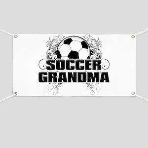 Soccer Grandma (cross) Banner