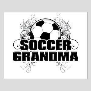 Soccer Grandma (cross) Small Poster