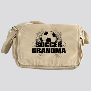 Soccer Grandma (cross) Messenger Bag