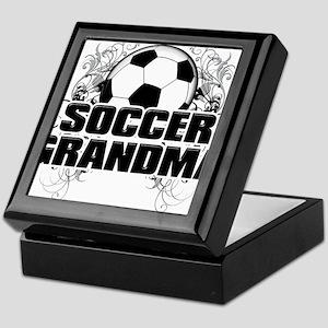 Soccer Grandma (cross) Keepsake Box