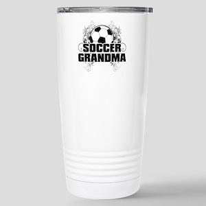 Soccer Grandma (cross).png Stainless Steel Travel
