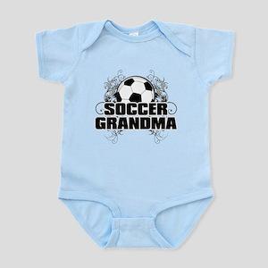 Soccer Grandma (cross) Infant Bodysuit