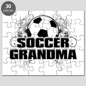 Soccer Grandma (cross) Puzzle