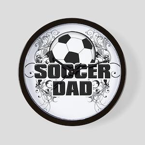 Soccer Dad (cross) copy Wall Clock