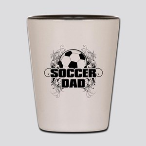 Soccer Dad (cross) copy Shot Glass