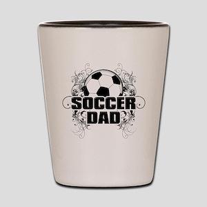Soccer Dad (cross) copy Shot Glass