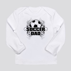 Soccer Dad (cross) copy Long Sleeve Infant T-S