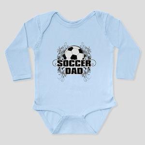 Soccer Dad (cross) copy Long Sleeve Infant Bod