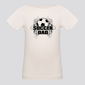 Soccer Dad (cross) copy Organic Baby T-Shirt