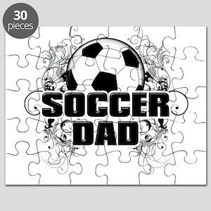Soccer Dad (cross) copy Puzzle