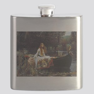 The Lady Of Shalott Flask