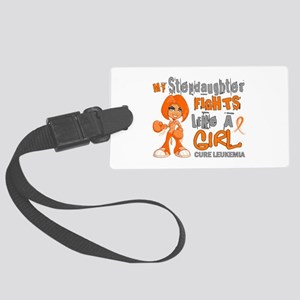 Licensed Fight Like a Girl 42.9 Large Luggage Tag
