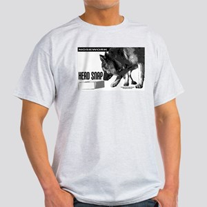 nose work german shepard dog Light T-Shirt