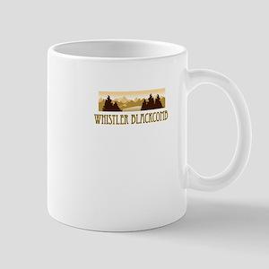Whistler Blackcomb ski resort truck stop tee Mug