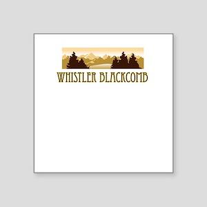 Whistler Blackcomb ski resort truck stop tee Squar
